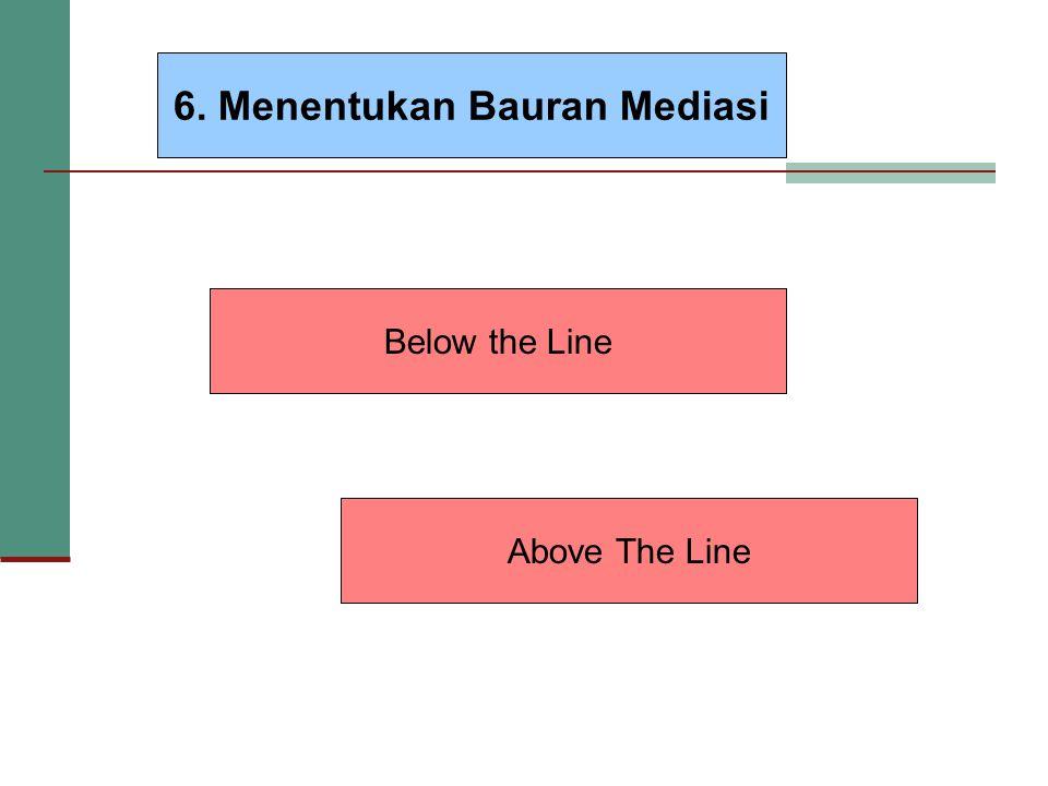 6. Menentukan Bauran Mediasi
