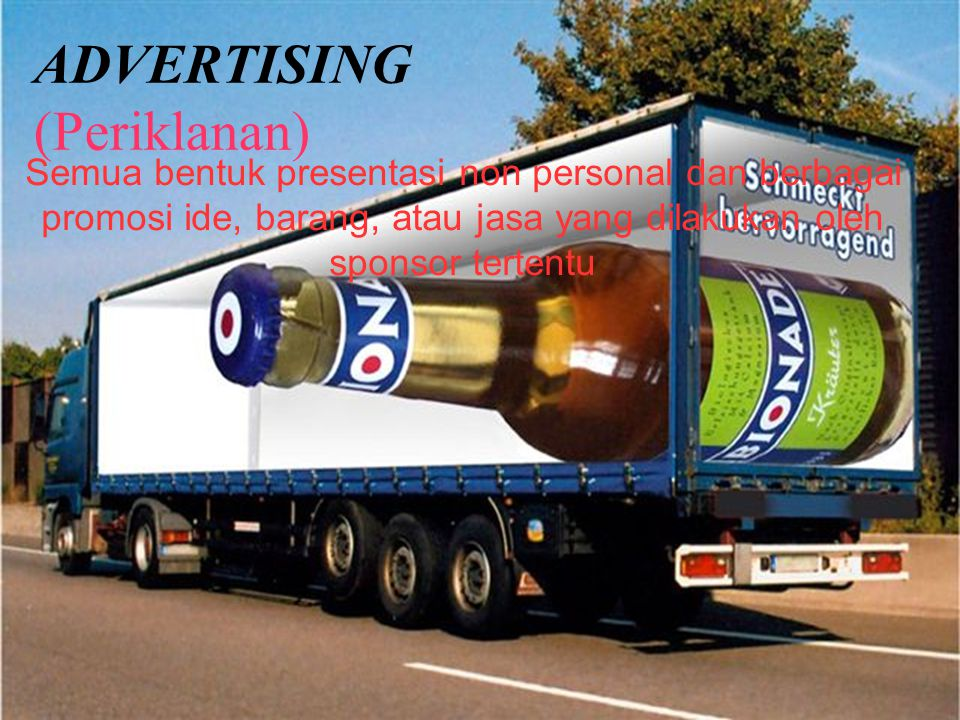 ADVERTISING (Periklanan)