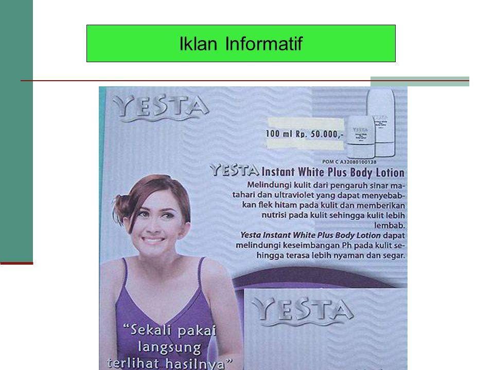 Iklan Informatif