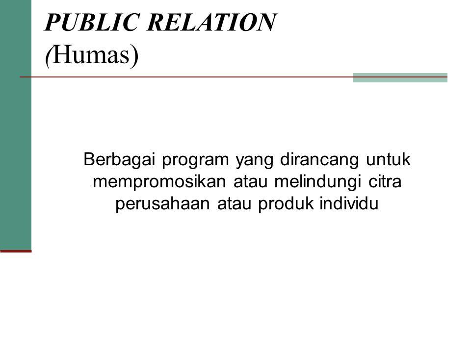 PUBLIC RELATION (Humas)