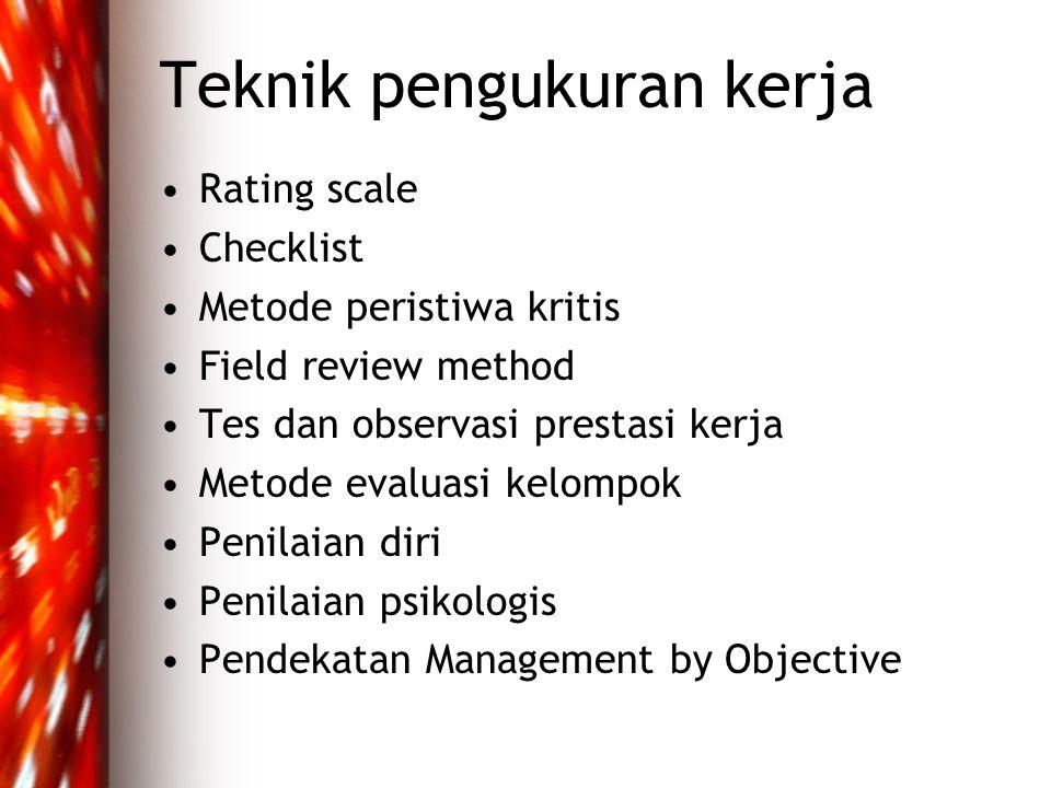 Teknik pengukuran kerja