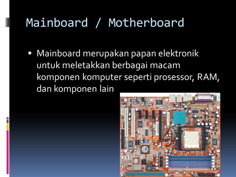 Mainboard / Motherboard