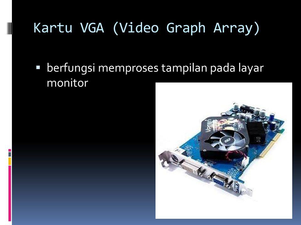 Kartu VGA (Video Graph Array)