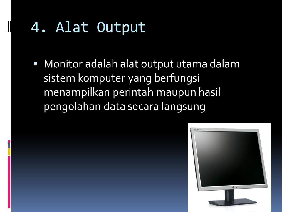 4. Alat Output