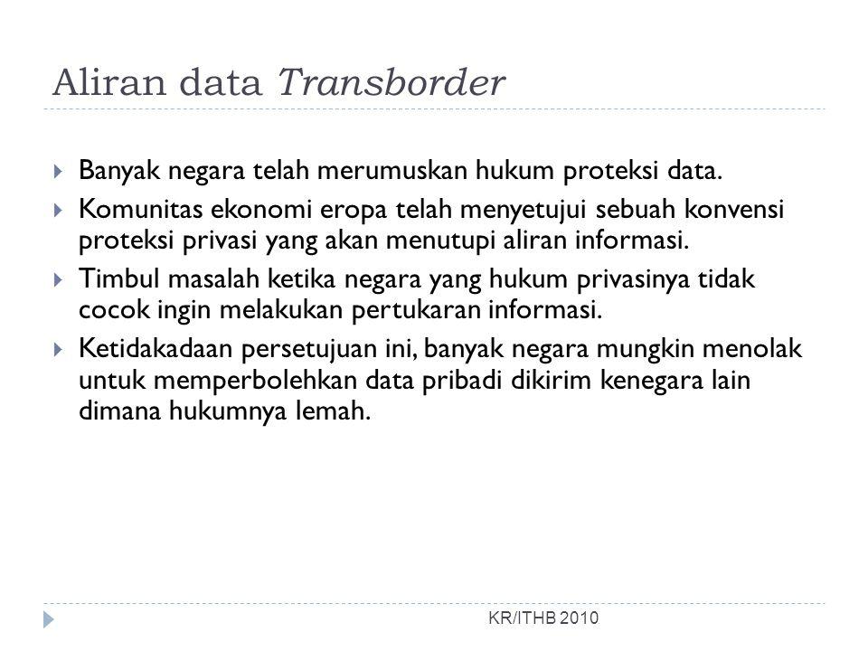 Aliran data Transborder