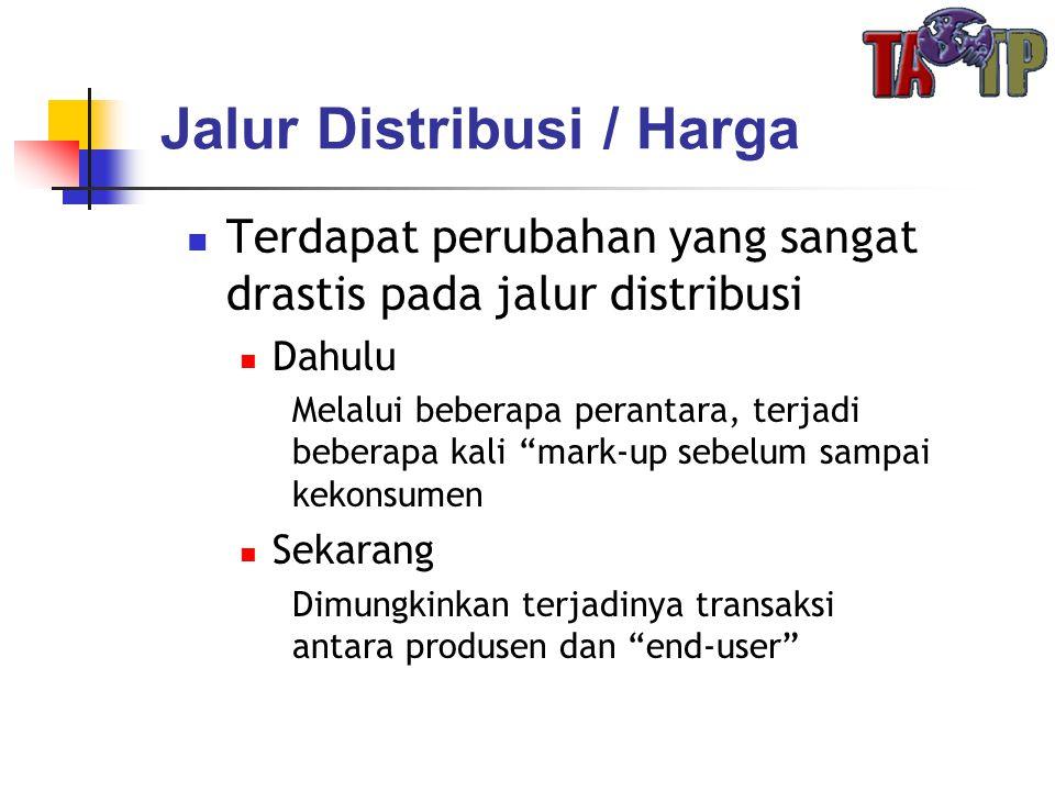 Jalur Distribusi / Harga