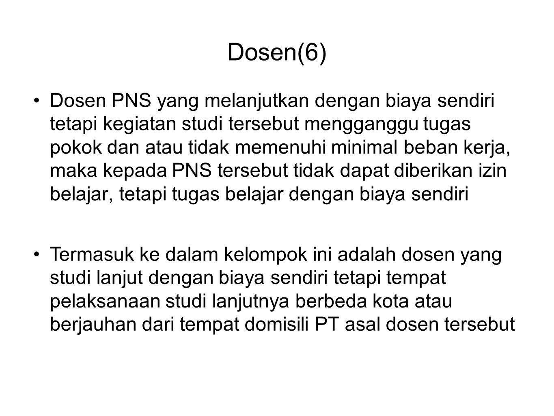 Dosen(6)