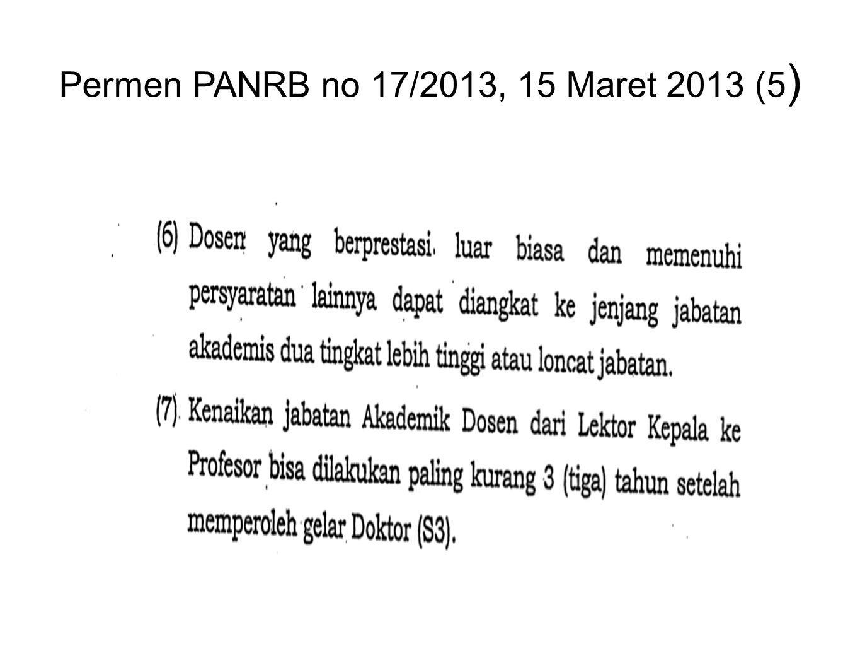 Permen PANRB no 17/2013, 15 Maret 2013 (5)