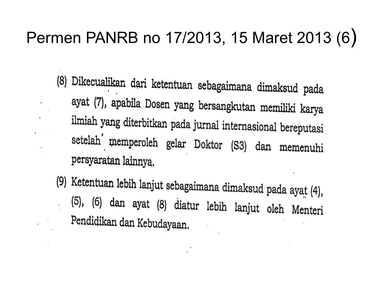 Permen PANRB no 17/2013, 15 Maret 2013 (6)