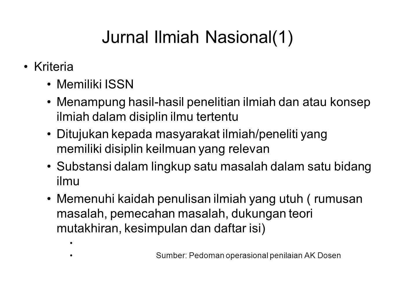 Jurnal Ilmiah Nasional(1)