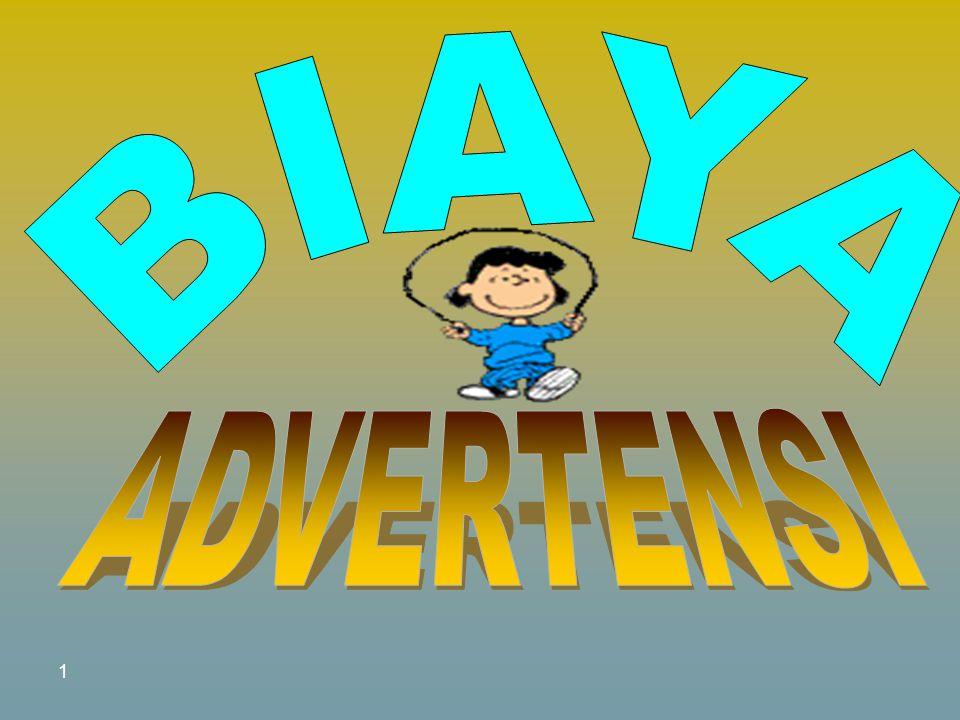 BIAYA ADVERTENSI 1