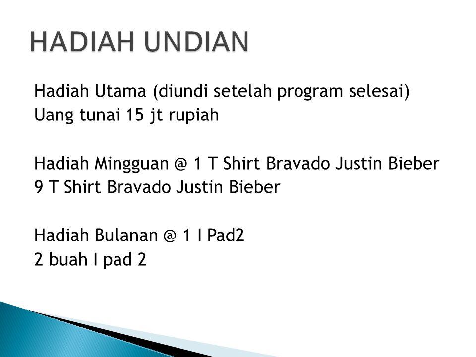 HADIAH UNDIAN