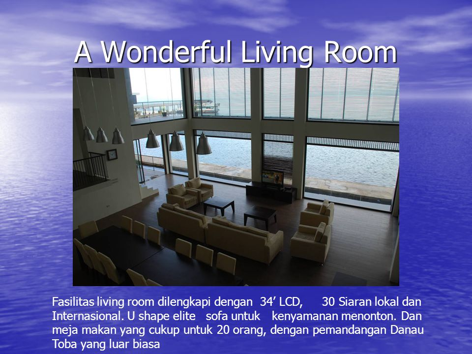 A Wonderful Living Room