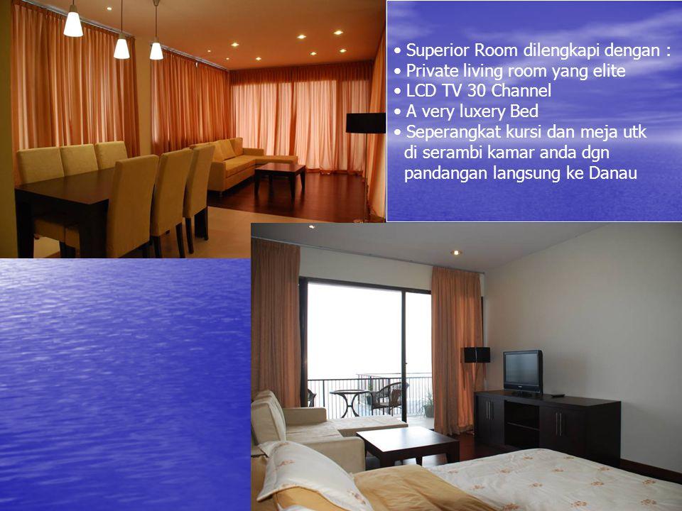 Superior Room dilengkapi dengan :
