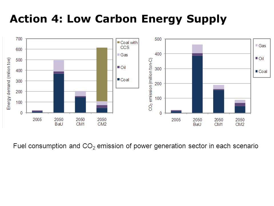 Action 4: Low Carbon Energy Supply