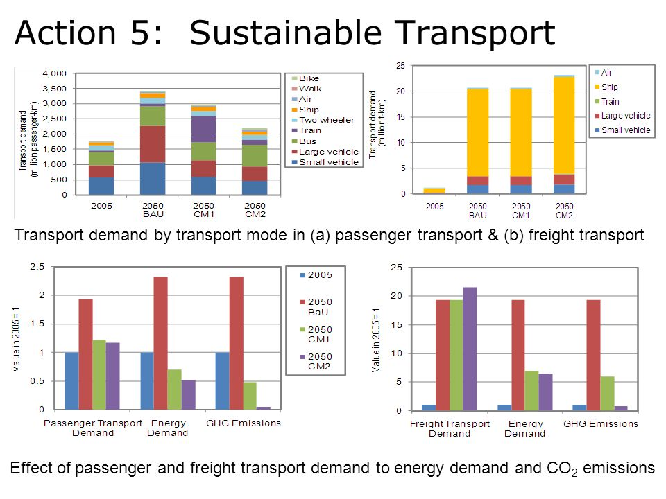 Action 5: Sustainable Transport