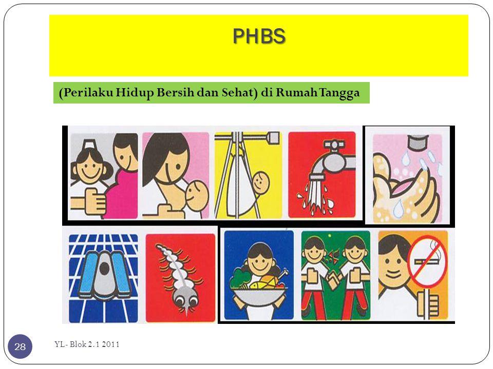 PHBS (Perilaku Hidup Bersih dan Sehat) di Rumah Tangga