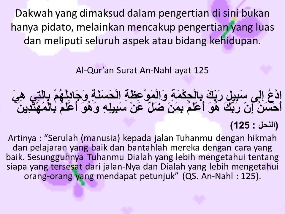 Al-Qur'an Surat An-Nahl ayat 125