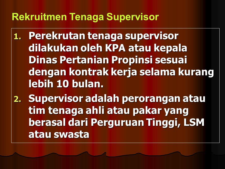 Rekruitmen Tenaga Supervisor
