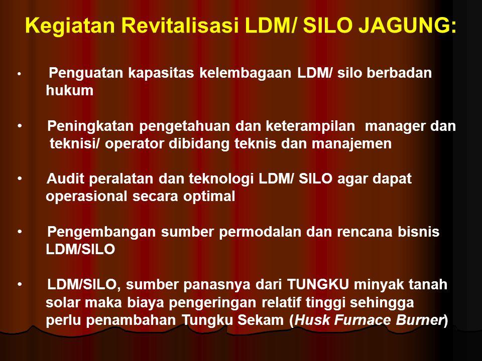 Kegiatan Revitalisasi LDM/ SILO JAGUNG: