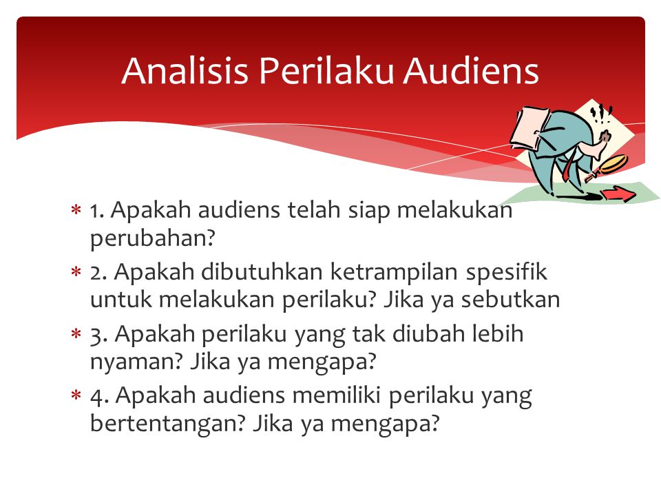 Analisis Perilaku Audiens