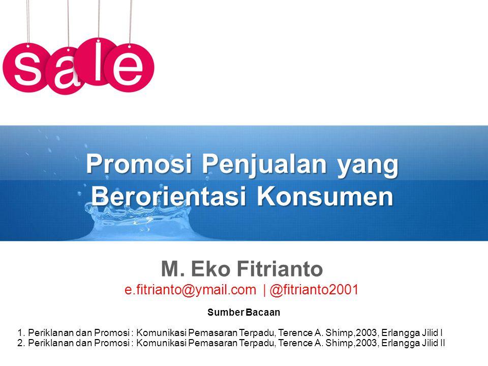 Promosi Penjualan yang Berorientasi Konsumen