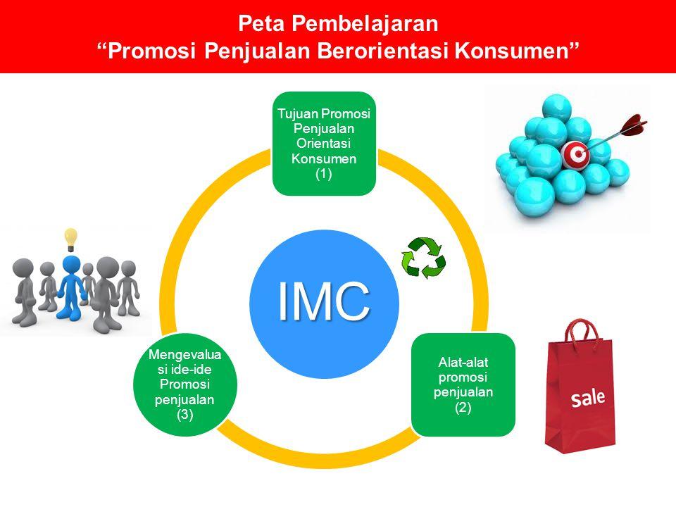 Peta Pembelajaran Promosi Penjualan Berorientasi Konsumen