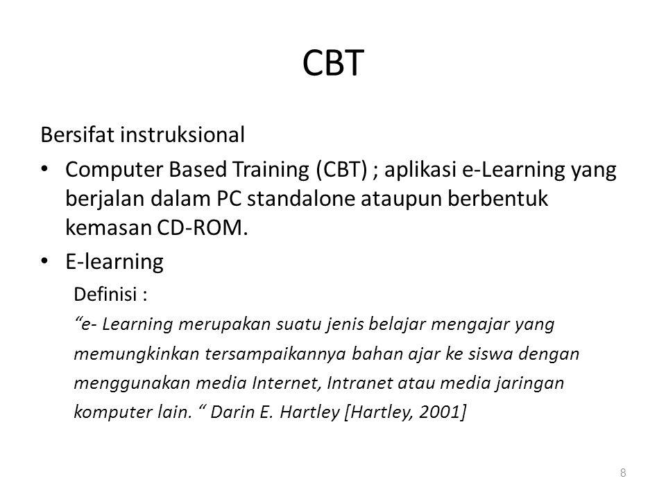 CBT Bersifat instruksional