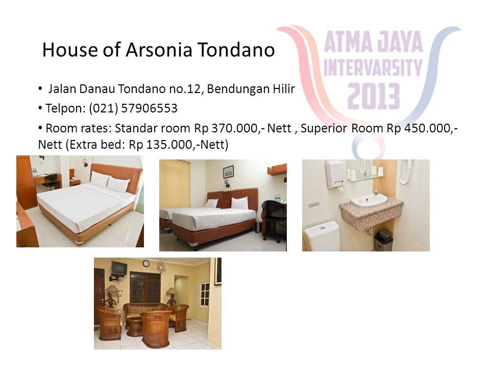 House of Arsonia Tondano