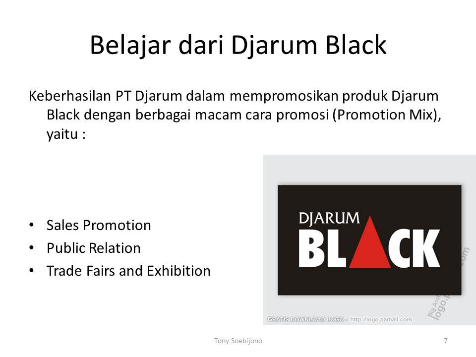 Belajar dari Djarum Black