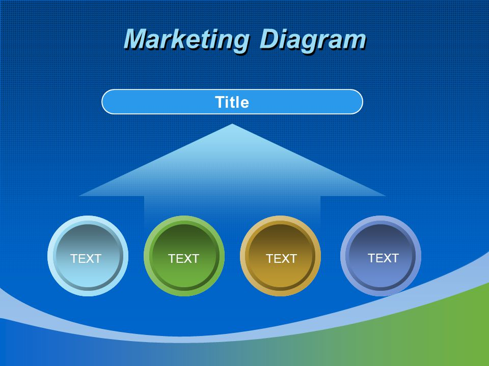 Marketing Diagram Title TEXT TEXT TEXT TEXT