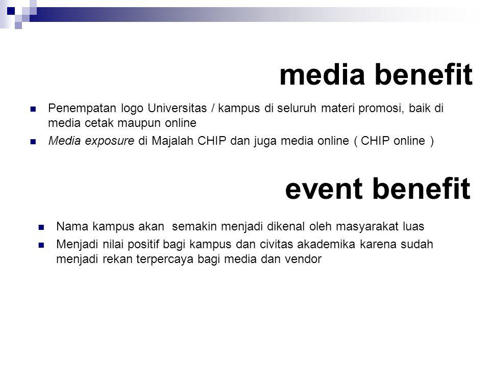 media benefit event benefit