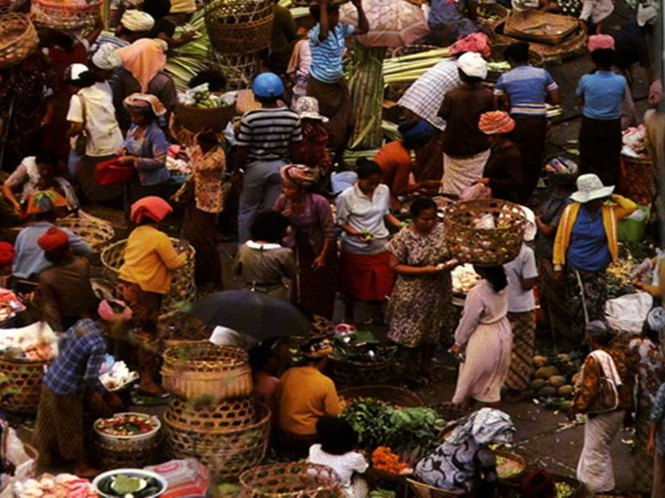 Pasar—Traditional Market