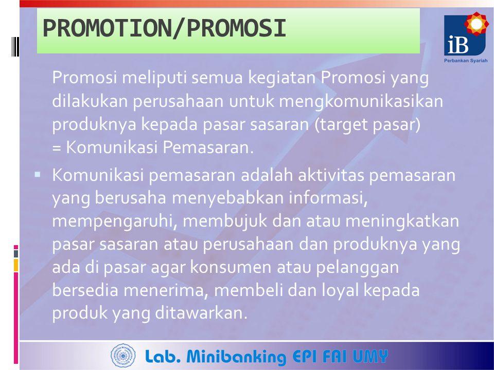 PROMOTION/PROMOSI