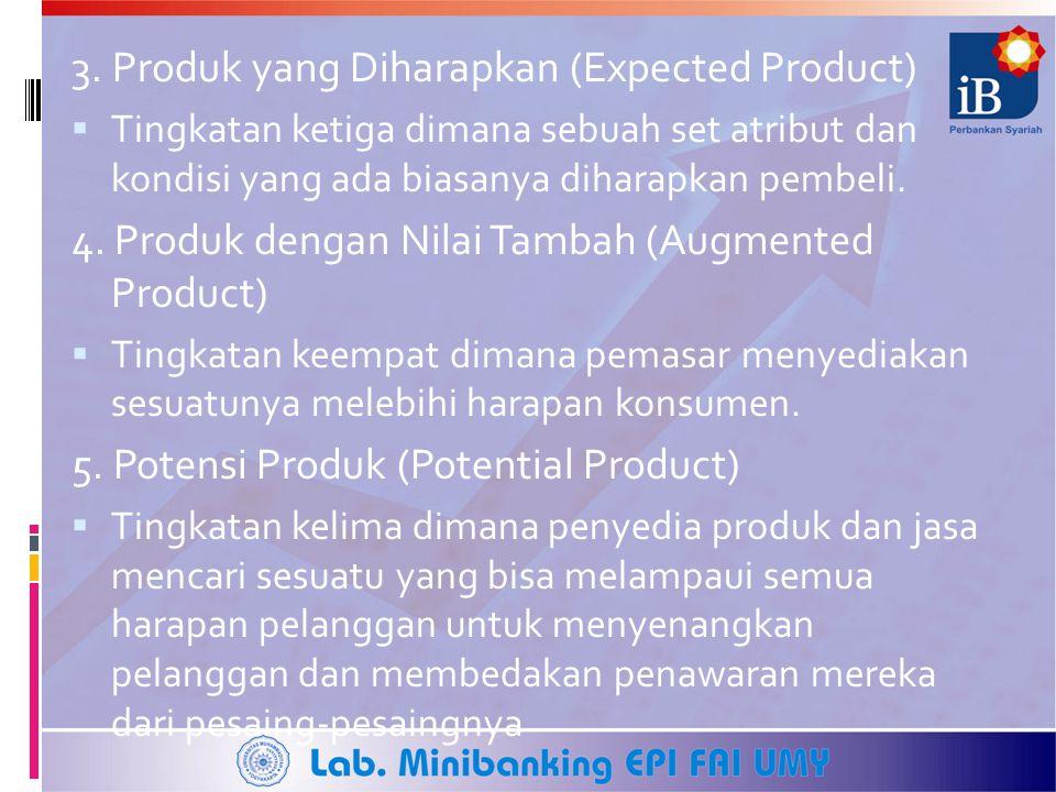 3. Produk yang Diharapkan (Expected Product)