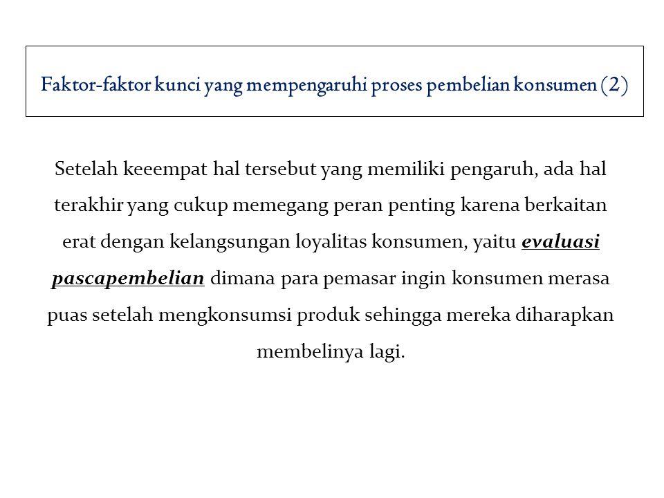 Faktor-faktor kunci yang mempengaruhi proses pembelian konsumen (2)