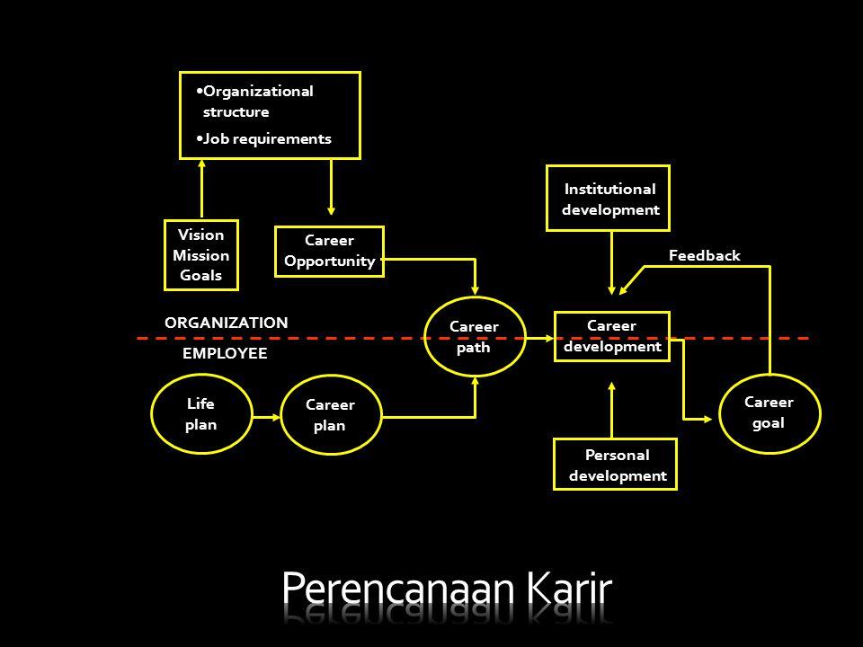 Perencanaan Karir Organizational structure Job requirements