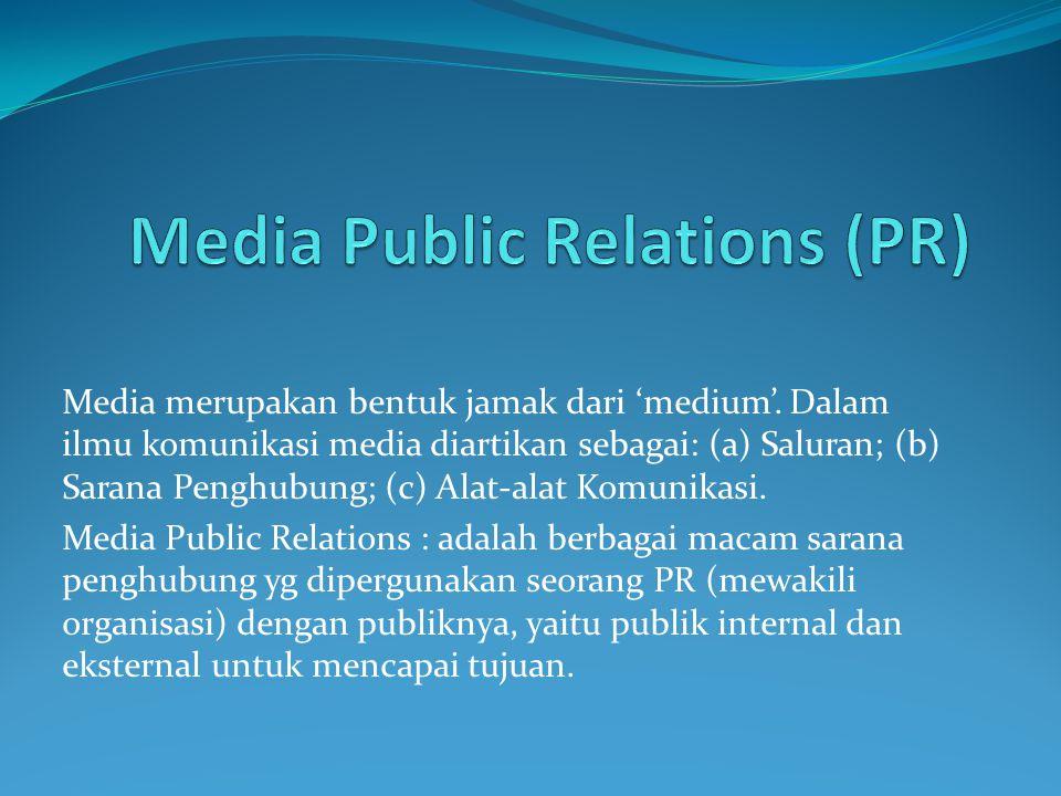 Media Public Relations (PR)