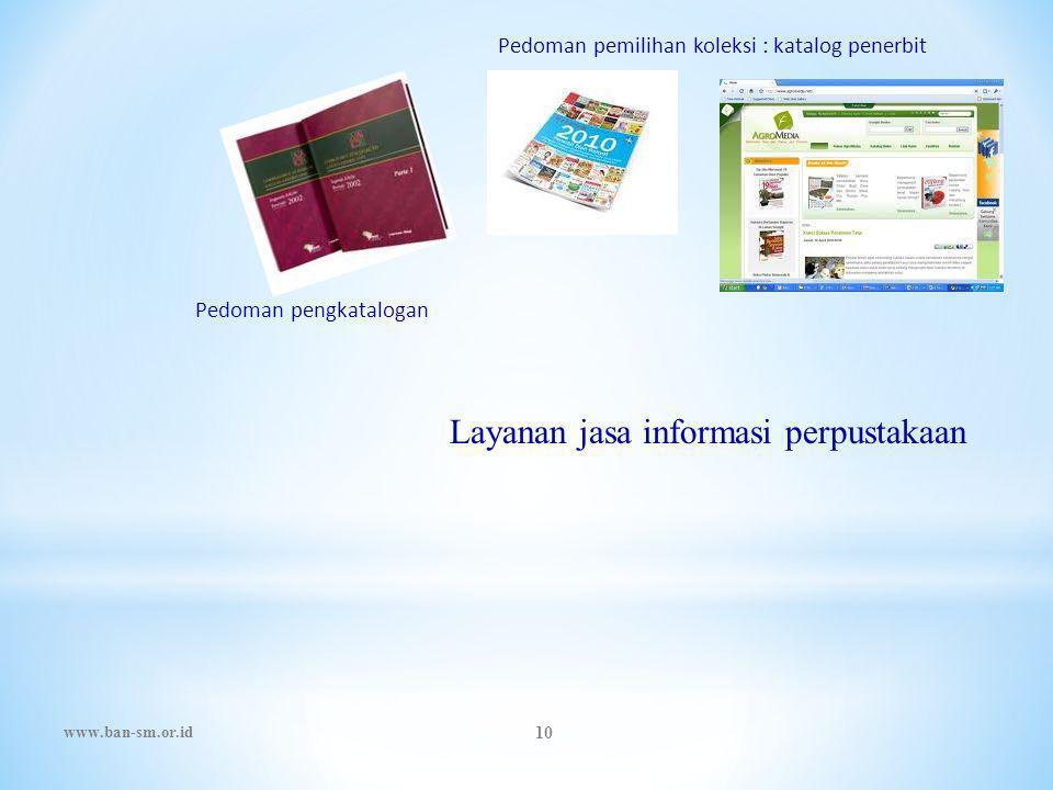 Layanan jasa informasi perpustakaan