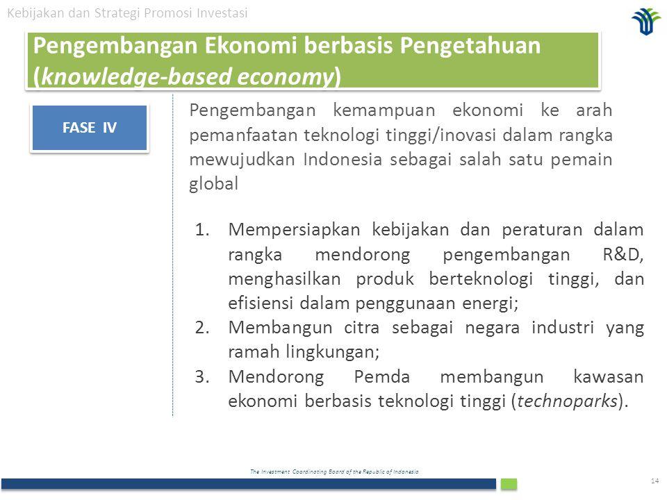 Pengembangan Ekonomi berbasis Pengetahuan (knowledge-based economy)