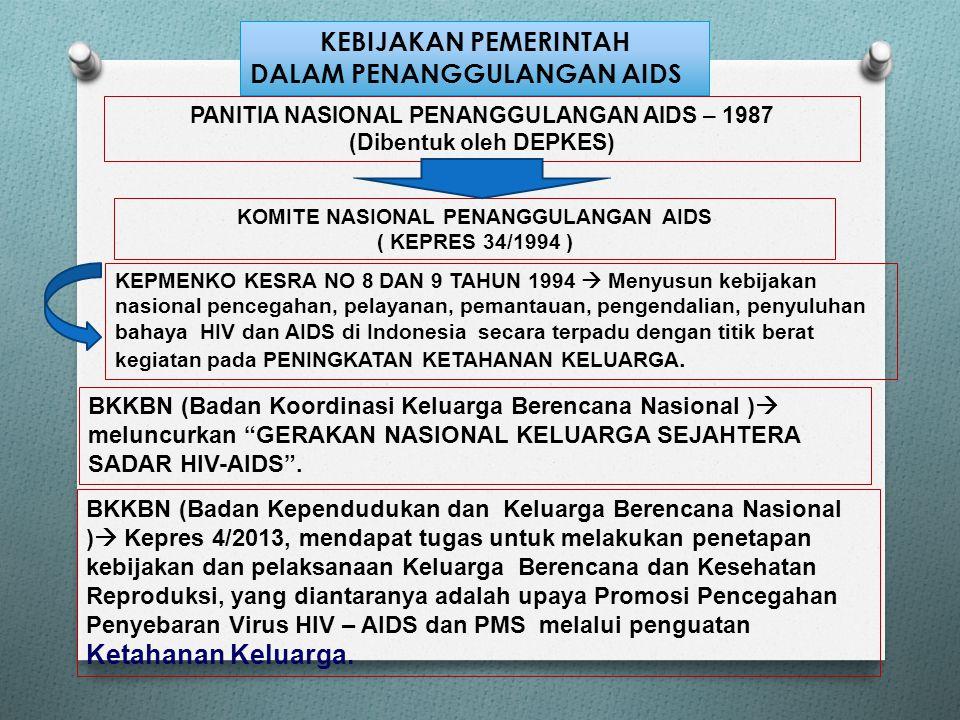 DALAM PENANGGULANGAN AIDS