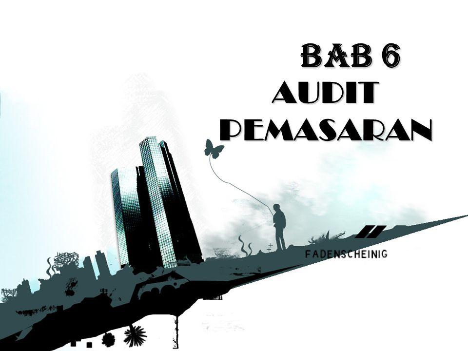 BAB 6 AUDIT PEMASARAN
