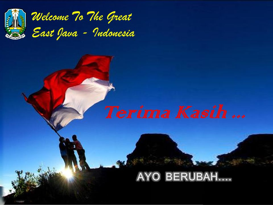 Terima Kasih ... Welcome To The Great East Java - Indonesia