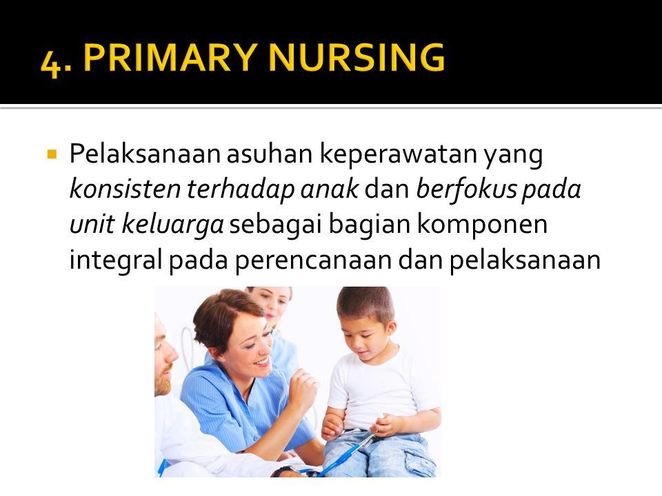 4. PRIMARY NURSING