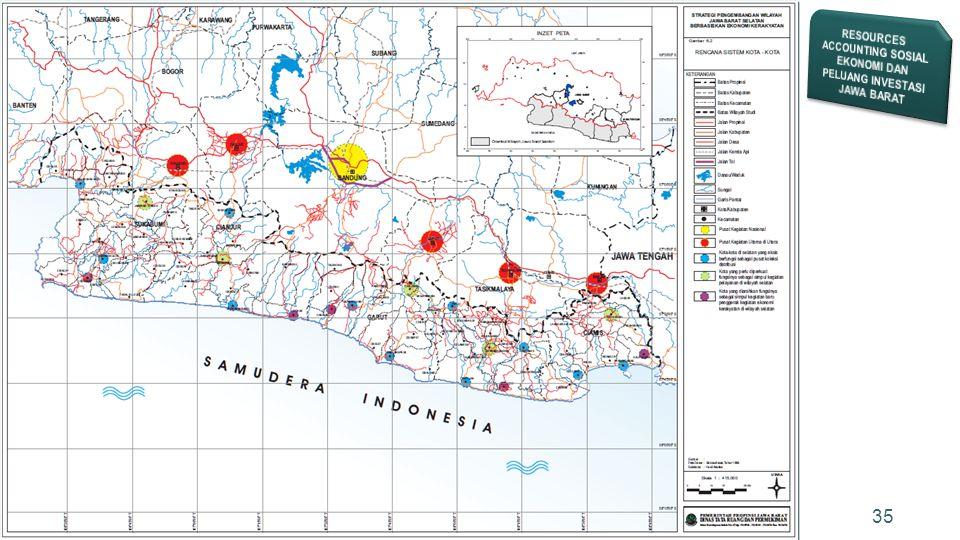 RESOURCES ACCOUNTING SOSIAL EKONOMI DAN PELUANG INVESTASI JAWA BARAT