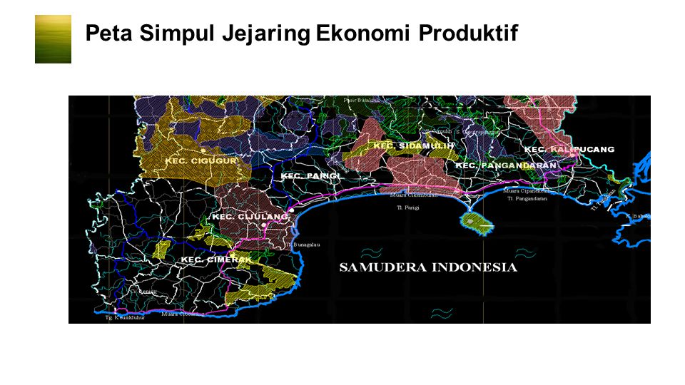 Peta Simpul Jejaring Ekonomi Produktif