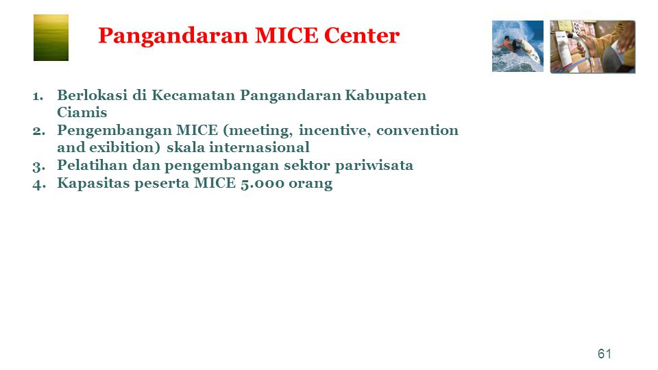 Pangandaran MICE Center