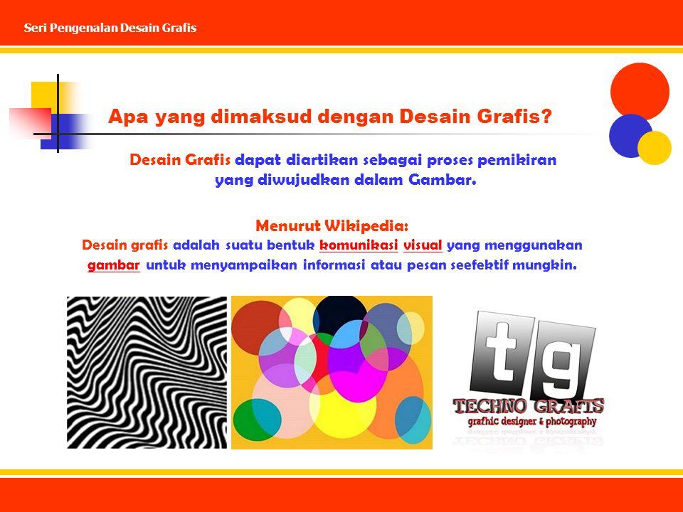 Apa yang dimaksud dengan Desain Grafis