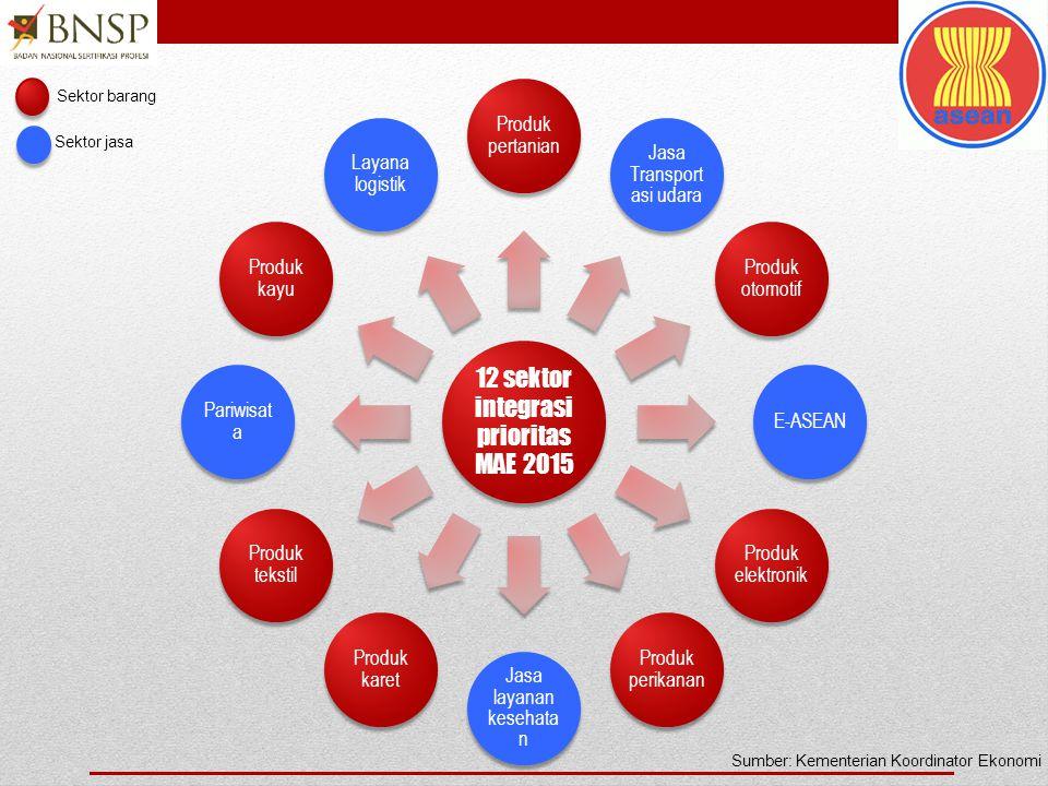 12 sektor integrasi prioritas MAE 2015