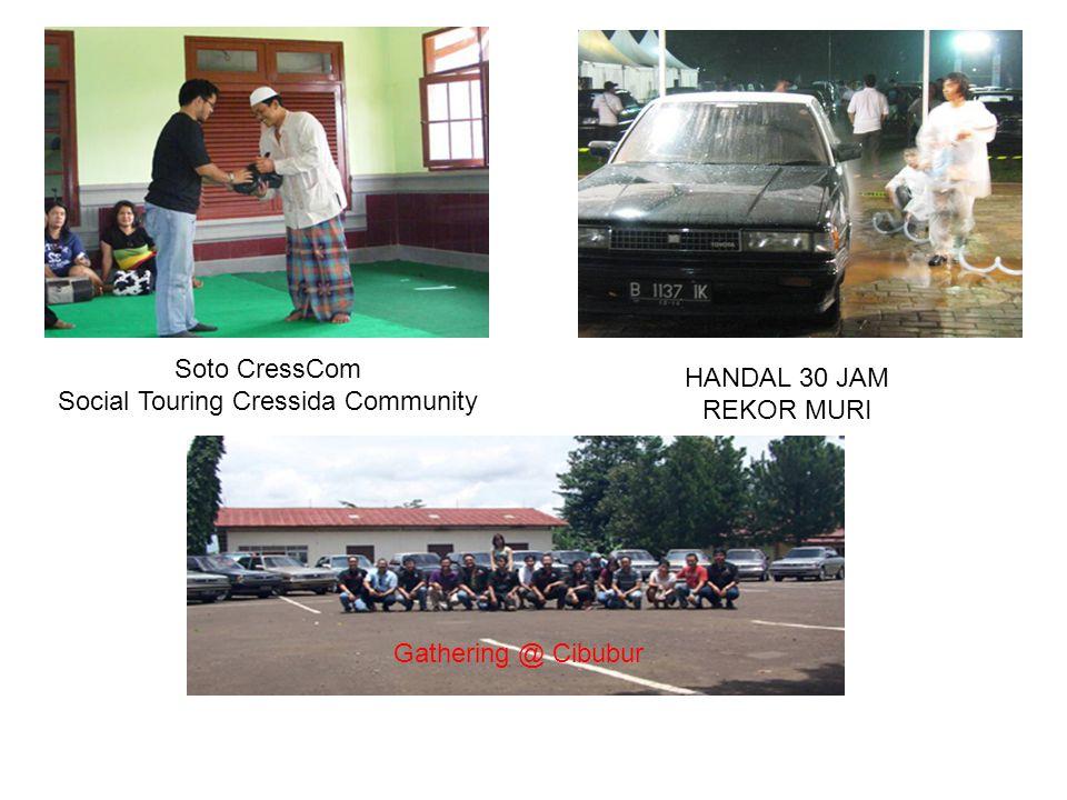 Social Touring Cressida Community